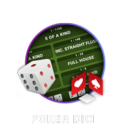 dingdong poker dice